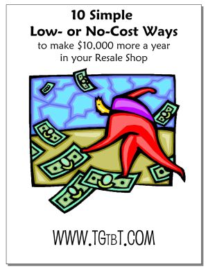 10 Ways to Make $10,000 in your Consignment or Resale Shop, by Kate Holmes