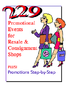 Promotion ideas especialy for resale shops from TGtbT.com
