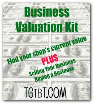 Business Valuation Kit from Too Good to be Threw