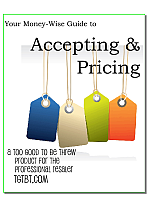 Accepting & Pricing Gently-Used Resale Goods, from TGtbT.com