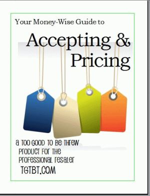 Your Money-Wise Guide to Accepting & Pricing by Kate Holmes of TGtbT.com